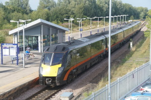 Rail 077 GC 180101 @ Eaglescliffe with 1518 Sunderland - KX
